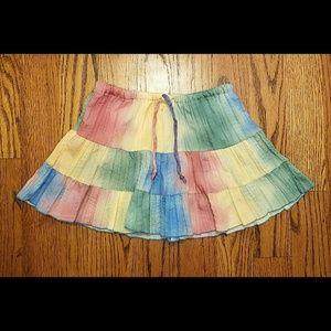 Tie-Dye Beach Mini Skirt